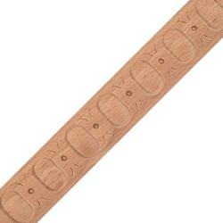 Dřevěný ornament s motivem růže RK-804