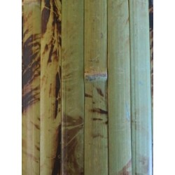 Natural green bamboo interior wall cladding