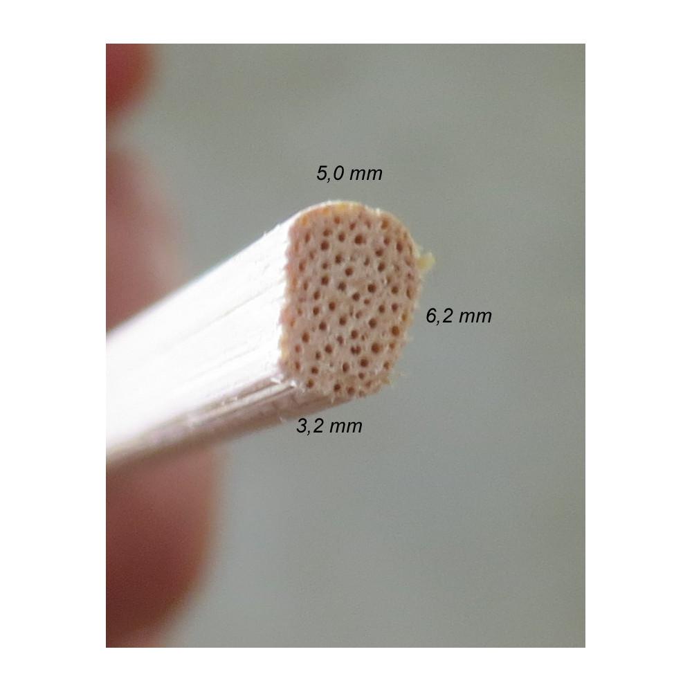 Textilre ragasztott Zöld bambusz falvédő