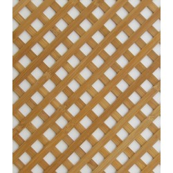 Wood lattice panel from exota-wood