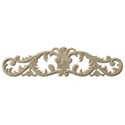 Acanthus leafy wooden applique