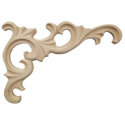 Acanthus leafy corner ornament SN-012