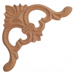 Wooden corner ornament