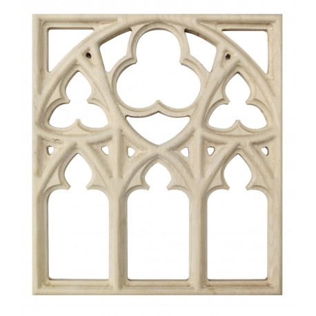 Carved gothic ornament, moulding