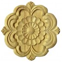 Furniture mouldings and appliques for furniture making (circle and rectangle shape carvings)