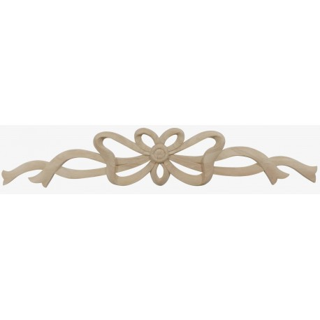 Carved bow ornament FN-669