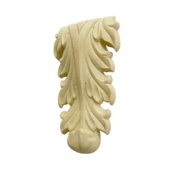Akantus leafy wood decorative carving