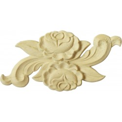 Rosy wooden moulding