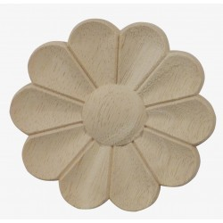 Carved round rosette