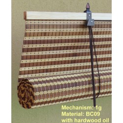 Made to measure bamboo blinds