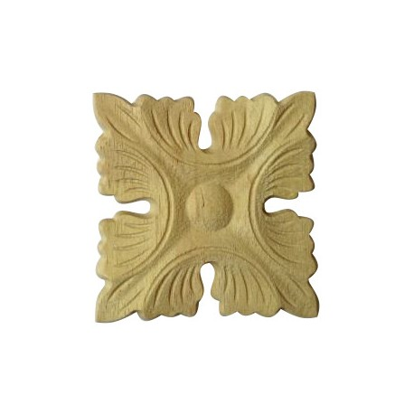 Akantus leafy carving, wooden ornament
