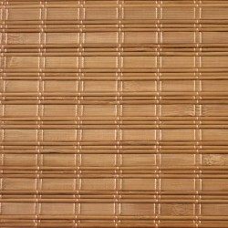 Made to measure sun awning and outdoor bamboo blinds