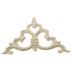 Corner wooden applique