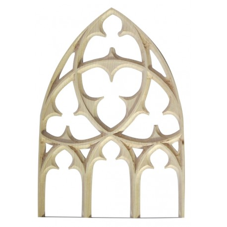 Gothic wooden carving