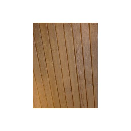 Bamboo wall covering for interior wall paneling