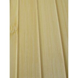 Bamboo covering for decorative wall cladding