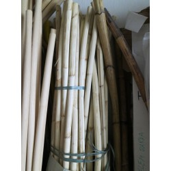 Rattan pole without peel