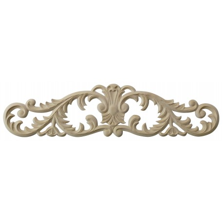 Acanthus leafy wooden carving