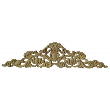 Rosette decorative carving