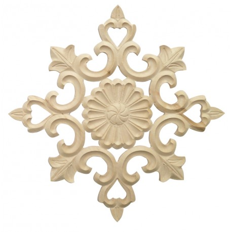 Decorative moulding wood, rosette