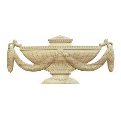 Carved chalice ornament