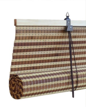 Bamboo blinds and bamboo roman blinds